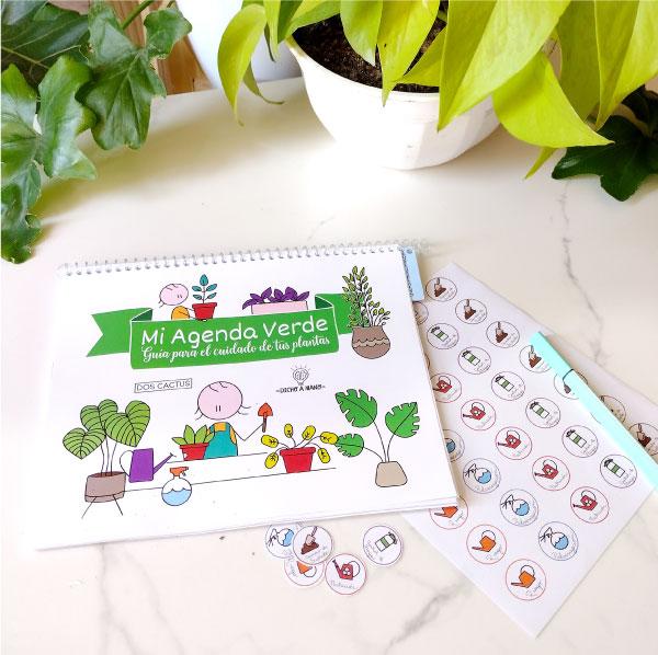 Organizador de cuidado de plantas
